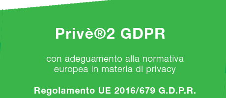 Privè - gestione privacy